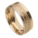 Unisex Soulmate Wedding Ring - All Yellow Gold