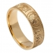 Men's Irish Warrior Ring - Gold