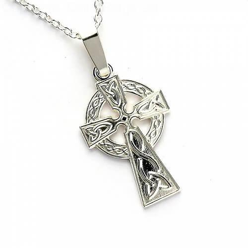 Keltisches Hochkreuz - Silber
