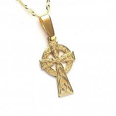 Small Gold Celtic Cross