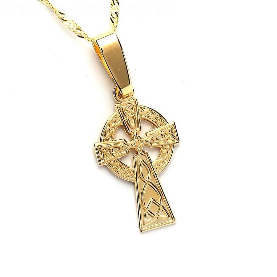 cross pendant of product scents necklace celtic a scotland