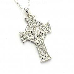 4 Gospels Celtic Cross - Silver