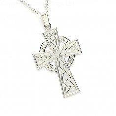 Grande Croix Celtique - Argent Sterling