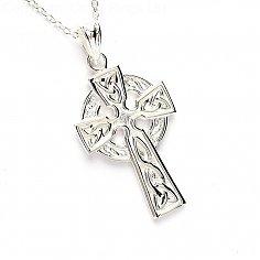 Silbernes keltisches Kreuz