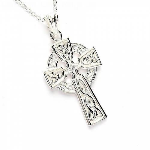 Croix celtique en argent