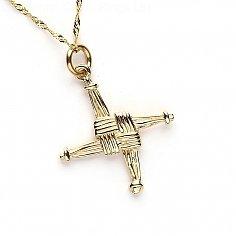 St Brigids Cross Charm