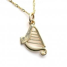 Small Harp Charm
