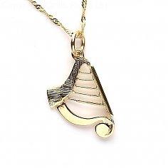 Medium Harp Charm