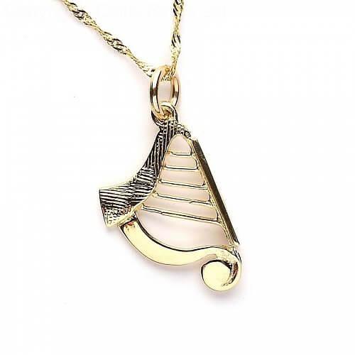 Medium Harfe Charm