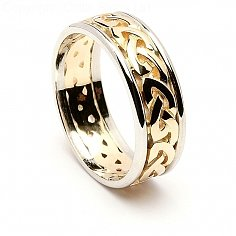 Bronagh Noeud celtique anneau de mariage