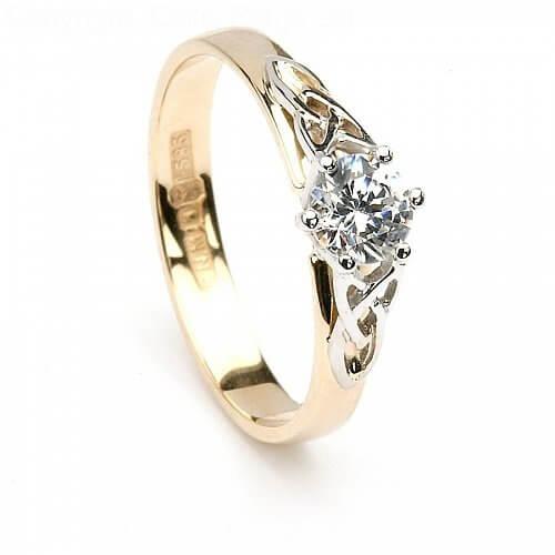Aife Trinity Diamond Engagement Ring