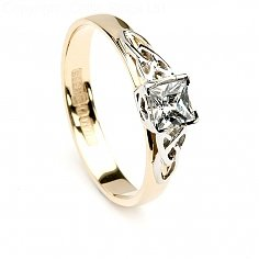 Aine Princess Engagement Ring