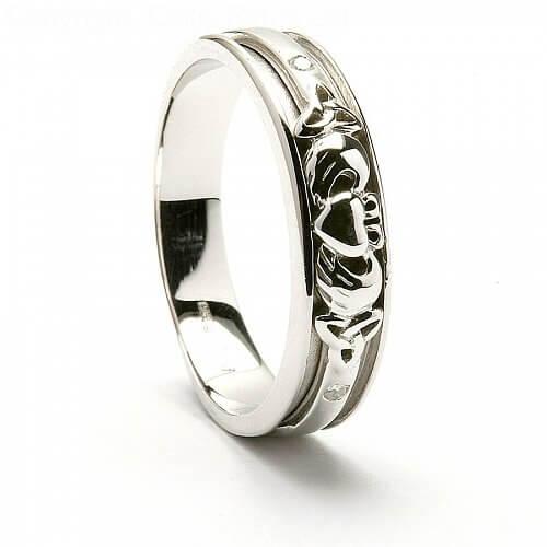 cleona claddagh wedding ring - Claddagh Wedding Rings