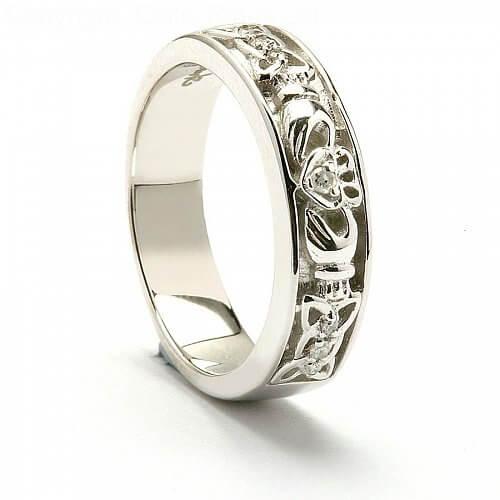 Fedelma Claddagh Wedding Ring