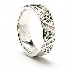 Ailis Trinity Wedding Ring