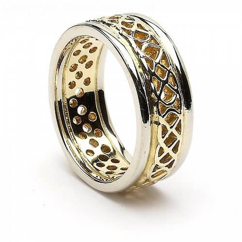 Kerry Pierced Wedding Ring