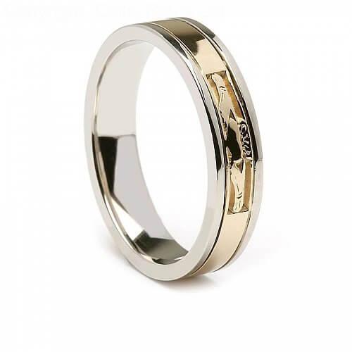 Signature Claddagh Wedding Ring
