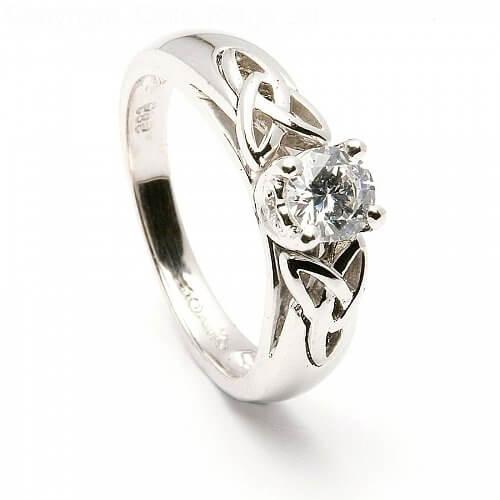 Trinity Inset Diamond Engagement Ring  14k White Gold. Design Anklet. Diamond Bar Pendant. Natural Gemstone Earrings. Stylish Rings. Black Gold Wedding Band. Golden Emerald. Engraved Anklet. Emerald And Diamond Eternity Band