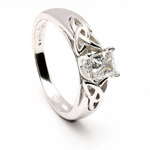 Princess Trinity Inset Ring