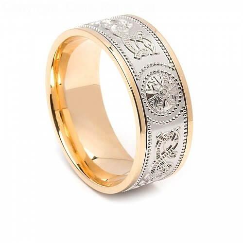 Irish Krieger Ring 8.6mm