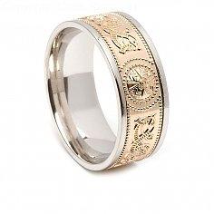 Irish Ring with Trim 8.6mm