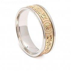 Irish Ring with Trim 6.6mm