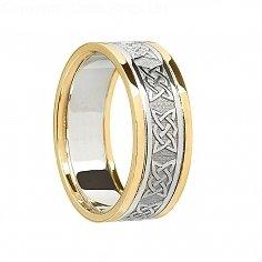 Sheenagh Celtic Wedding Band