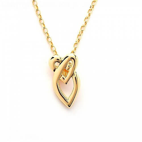Celtic Love Knot Pendant - Yellow Gold