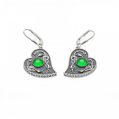 kawakawa greenstone green stone kiwitreasure teardrop com p earrings htm