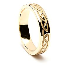 Caoimhe Celtic Wedding Ring