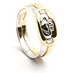 2 Piece Claddagh Ring