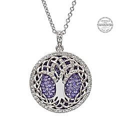 Tree Of Life Pendant With Swarovski