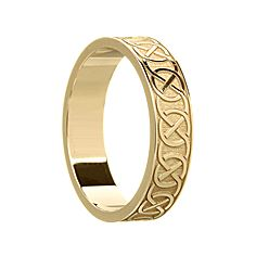 Claire Celtic Wedding Ring