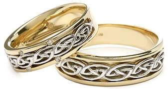 Link to Celtic wedding rings category