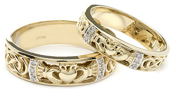 Link to Claddagh wedding rings category