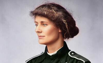 Countess Constance Markievicz in Color