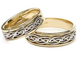Image of Celtic Wedding Bands