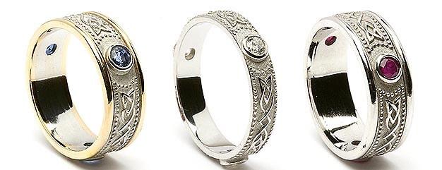 Celtic Shield Rings Category