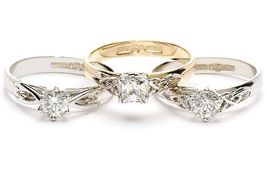 Image of Claddagh Engagement Rings