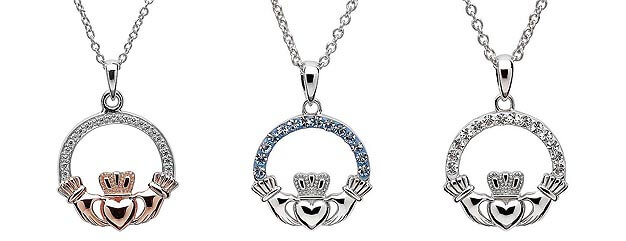 Claddagh Necklaces Category
